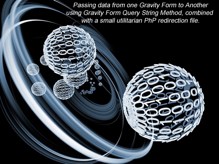 Passing Data From one Form to Another using Gravity Forms