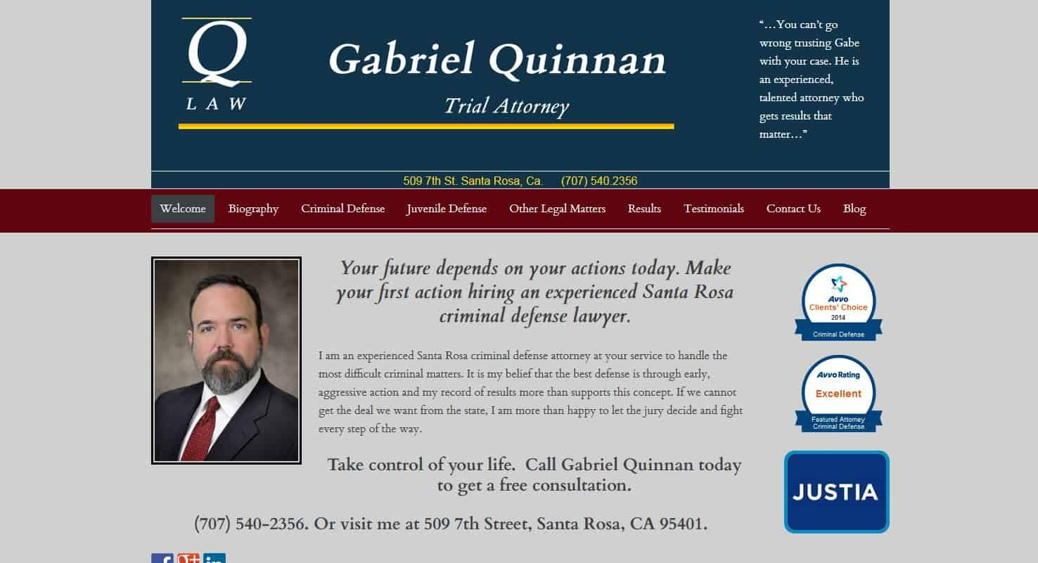 An Attorney Web Site