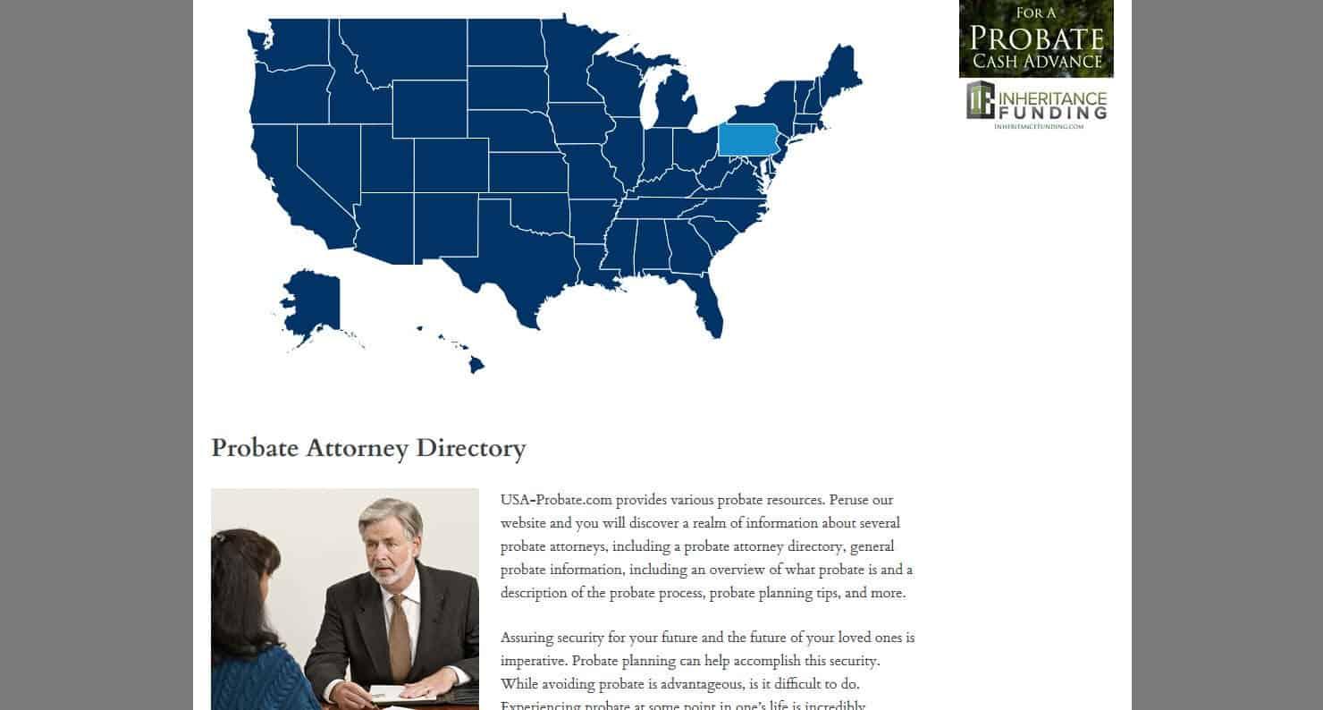 Probate Attorney Site