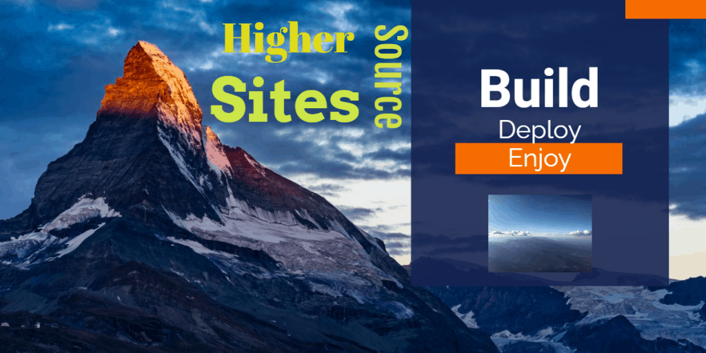 Websites Build, Deploy, Enjoy